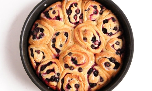 Lemon Blueberry Rolls