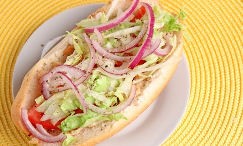 Chicken Cheeseteak Hoagies