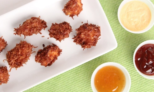 Coconut Chicken Nuggets
