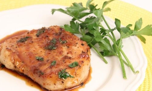 Garlic and Brown Sugar Pork Chops