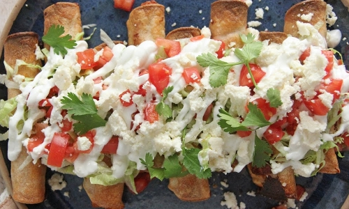 Loaded Taquitos
