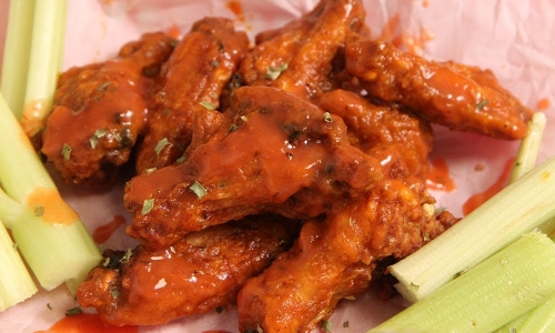 Restaurant Style Buffalo Wings Recipe Laura In The Kitchen Internet Cooking Show