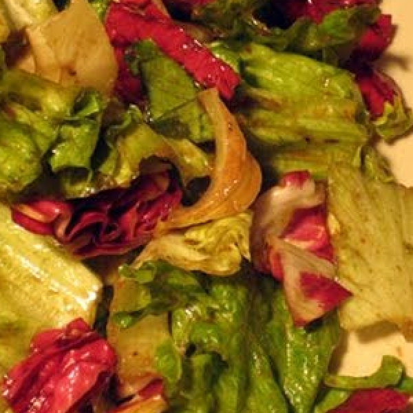 Three Color Salad with Balsamic Vinaigrette