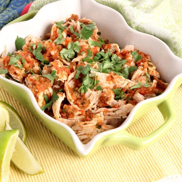 Salsa Poached Chicken