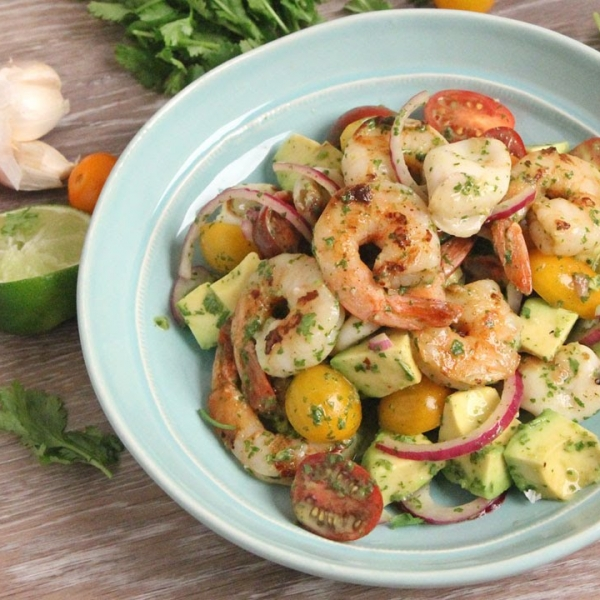Seafood and Avocado Salad