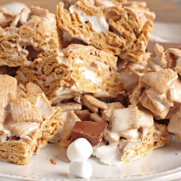 Smores Crispy Treats