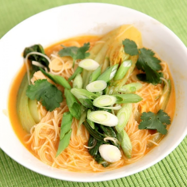 My Thai Inspired Noodle Soup