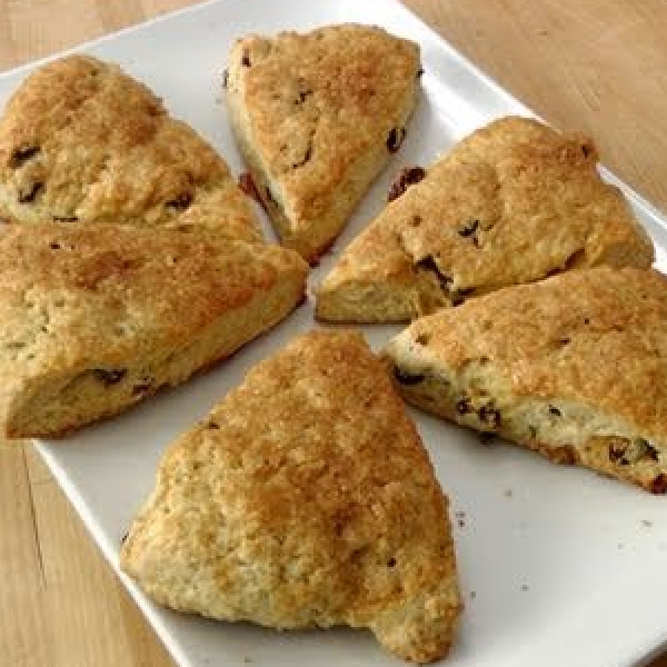 Rum Raisin Scones