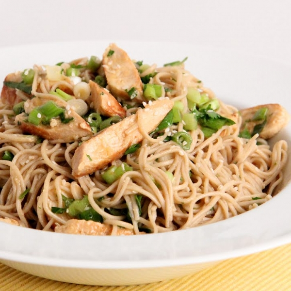 Chicken Sesame Noodle Salad