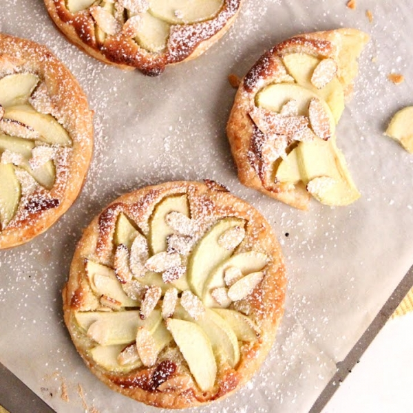 Almond Apple Tarts