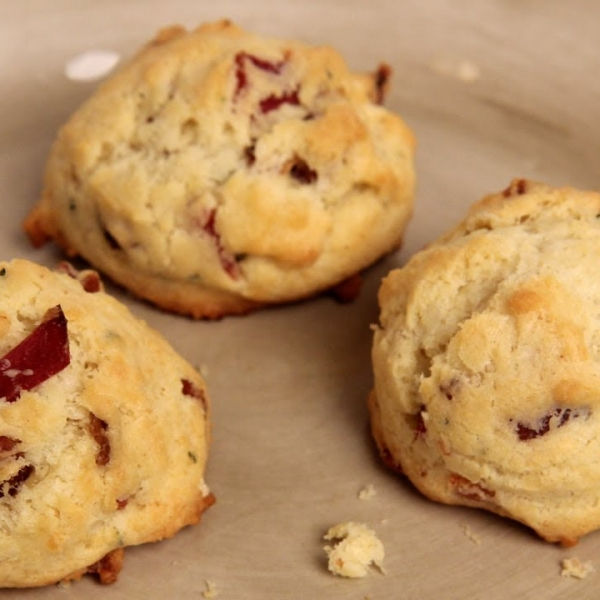 Bacon Parmesan Cookies