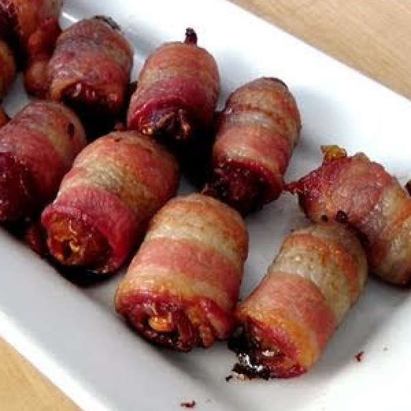 Candied Bacon bites