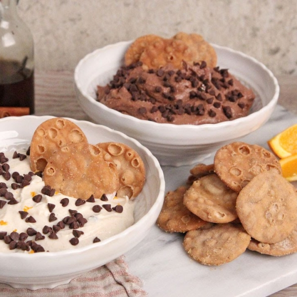 Cannoli Dip 2 Ways