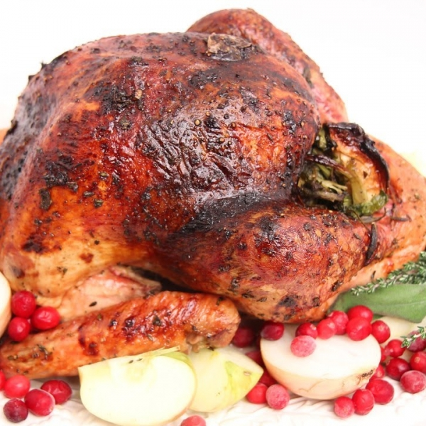 Cider Glazed Turkey