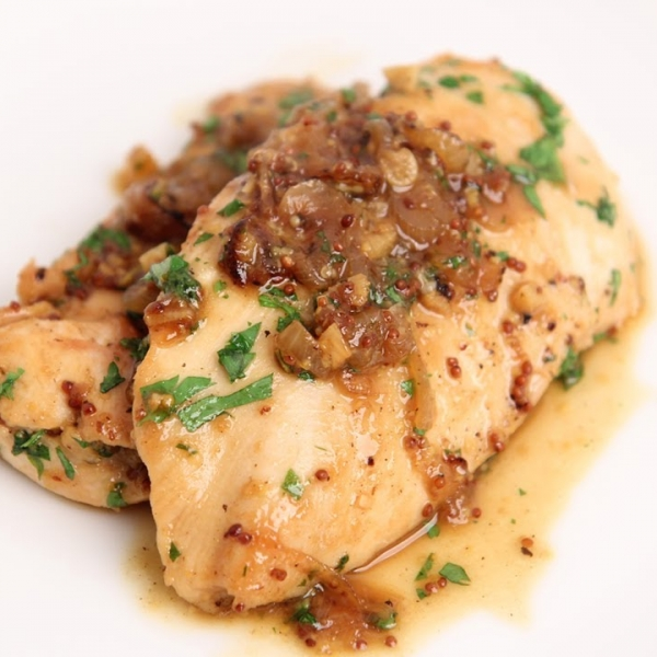 Honey Mustard Sauteed Chicken