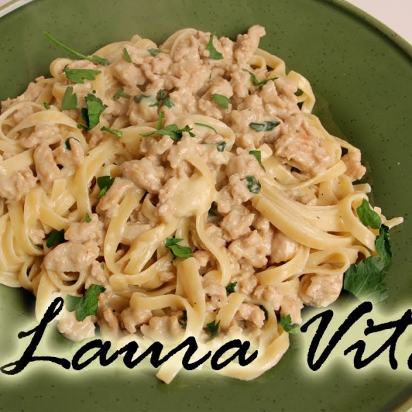 Light Fettuccini Alfredo