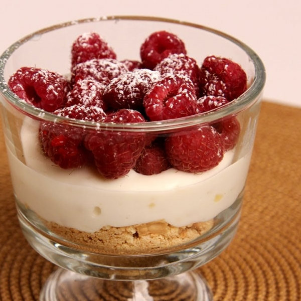 Low Fat Cheesecake Trifles