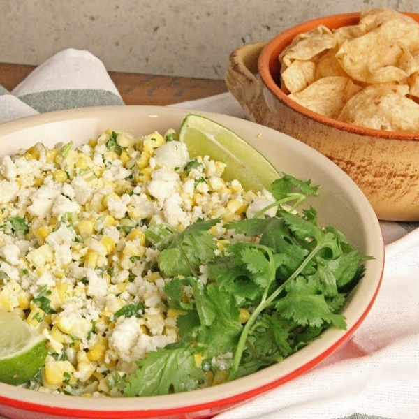 Mexican Style Street Corn Dip