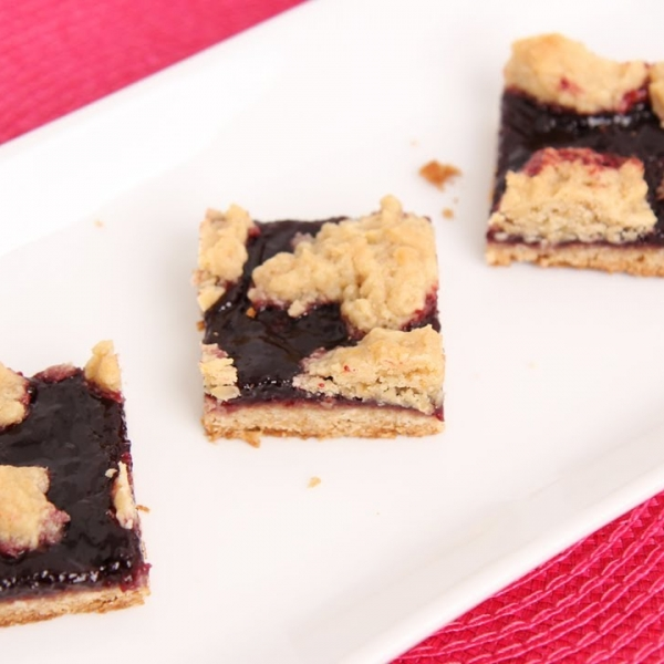 Oats and Jam Bars