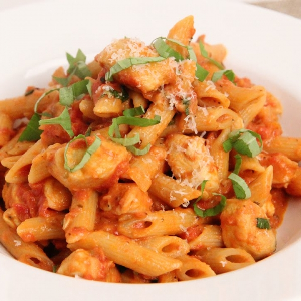 Penne Vodka with Chicken