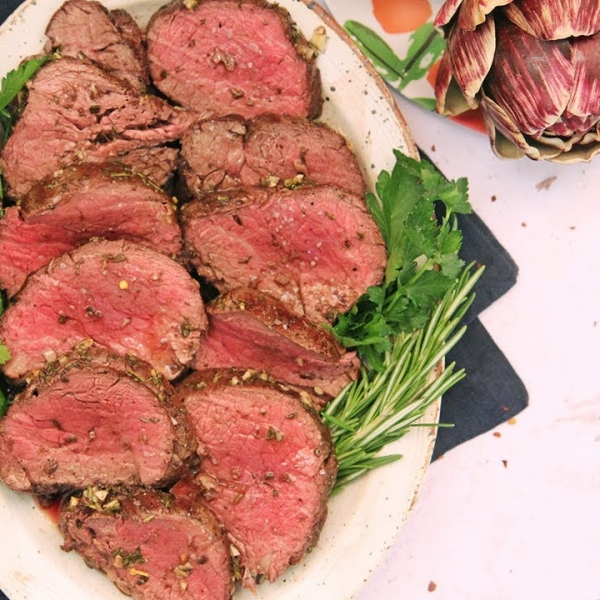 Perfect Roasted Beef Tenderloin