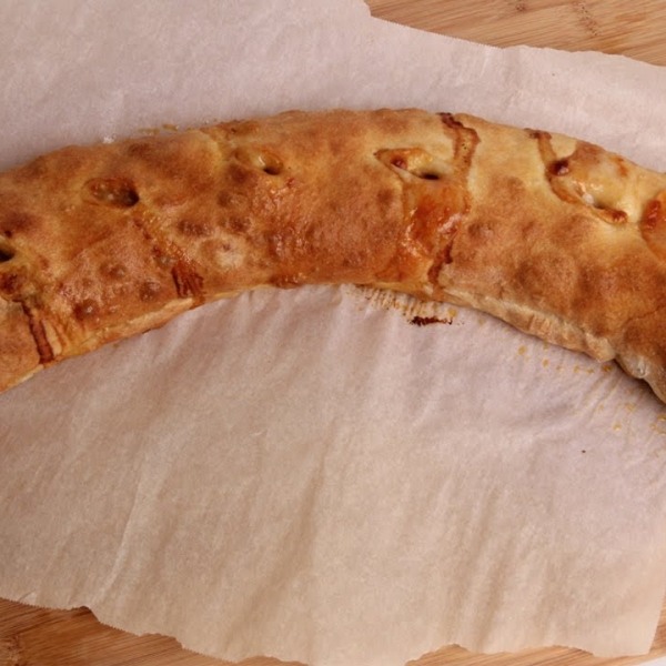 Sausage Peppers and Onion Stromboli
