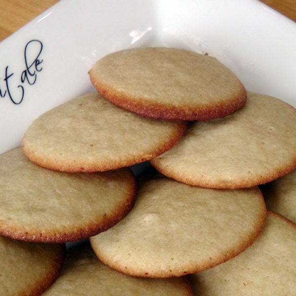 Soft Vanilla Sugar Cookies