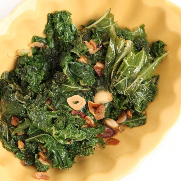 Spicy Garlic Kale