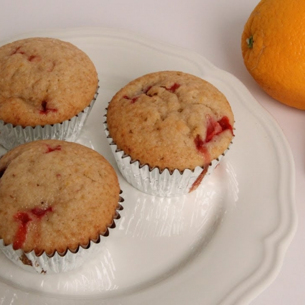 Strawberry Orange Muffins