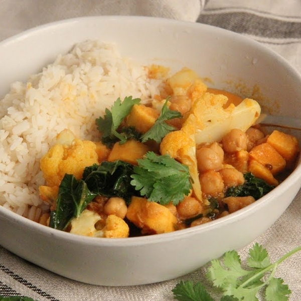 Sweet Potato And Vegetable Curry