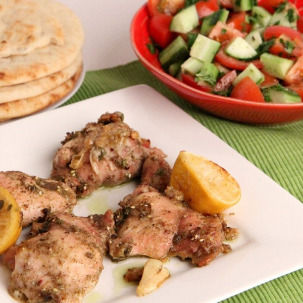 Zaatar Roasted chicken